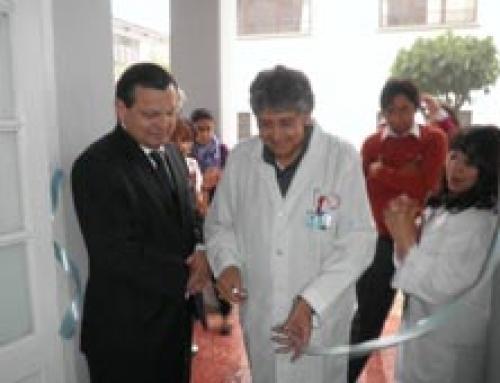 Entrega equipamiento Hospital Santa Bárbara