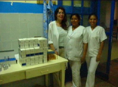 Donación de medicamentos al Oncológico Infantil
