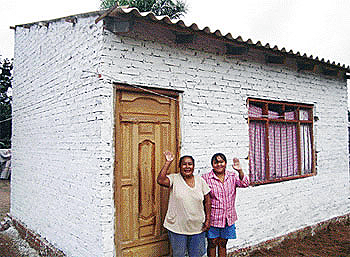 Restauración de casas quemadas